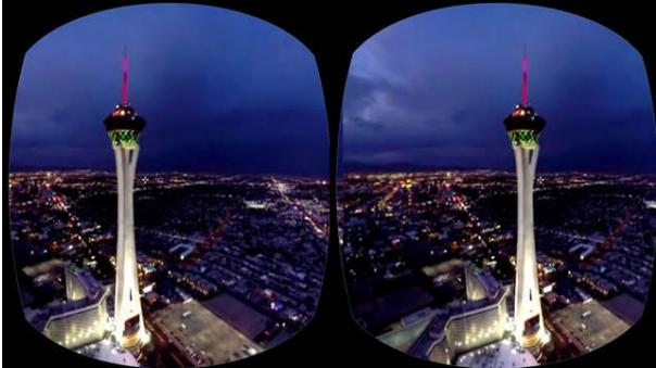 Helicopter flying experience over Las Vegas. Lauren Barack, July 6th 2016, GearBrain